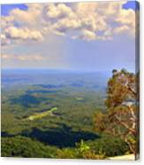 A View From Table Rock Canvas Print