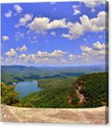 A View From Table Rock South Carolina Canvas Print