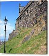 A View From The Castle Canvas Print