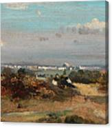 A View In Suffolk Canvas Print