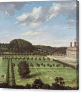 A View Of Bayhall - Pembury Canvas Print