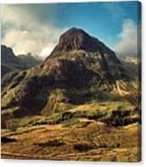 A View Of Glencoe. Canvas Print