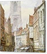 A View Of Irongate Canvas Print