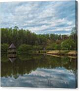 A View Of Meadowlark Gardens Early On A Spring Morning Cm1 Canvas Print