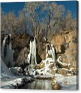 A View Of Rifle Falls Canvas Print
