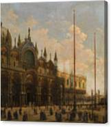 A View Of St. Mark's Basilica Canvas Print