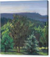 A View Of The Catskill Mountains Canvas Print