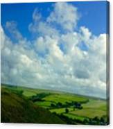 A View Over Exmoor Canvas Print