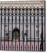 A View Through The Gates At Buckingham Canvas Print