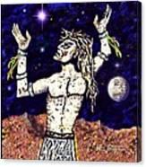A  Viking Warrior  Canvas Print