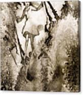 A Vision Softly Creeping Canvas Print