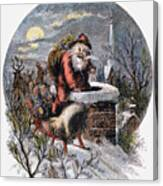 A Visit From St Nicholas Canvas Print