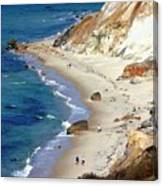 A Walk Along Aquinnah Beach Canvas Print