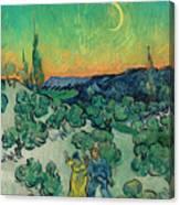 A Walk At Twilight Canvas Print