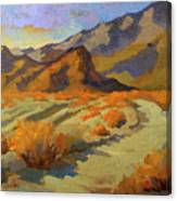 A Walk In La Quinta Cove Canvas Print