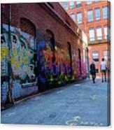 A Walk Through Color Canvas Print