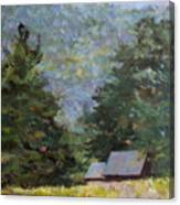 A Walk To Great Meadow Canvas Print