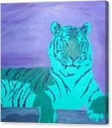 A Watchful Queen Canvas Print