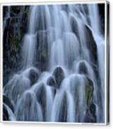 A Waterfall In Iceland Canvas Print