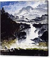 A Waterfall Canvas Print