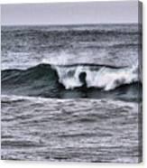 A Wave On The Ocean Canvas Print