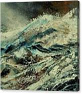 A Wave Canvas Print
