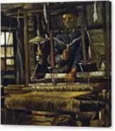 A Weavers Cottage Canvas Print