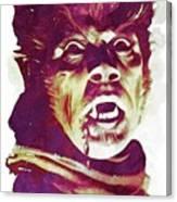 A Werewolf In London Canvas Print