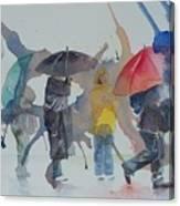 A Wet Wait Canvas Print