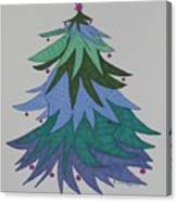 A Wild Christmas Tree Canvas Print
