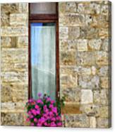 A Window In Florence Canvas Print