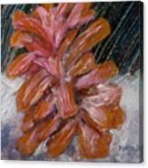 A Wintry Night Canvas Print