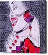 A Womans World Canvas Print