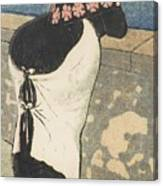 A Women On The Coas Canvas Print
