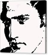A Young Elvis Canvas Print