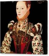 A Young Lady Aged 21 Canvas Print