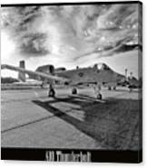 A10 Thunderbolt Canvas Print