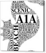 A1A Canvas Print