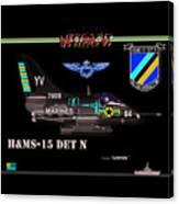 A4-c Skyhawk Vsf Canvas Print