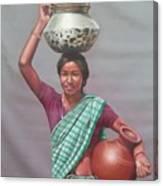 Aadibasi Canvas Print