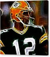 Aaron Rodgers - Green Bay Packers Canvas Print