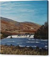 Aasleagh Falls Canvas Print