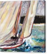 Abaco Dinghy Race II Canvas Print