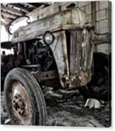 Abanded Tractor 3 Canvas Print
