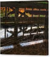 Abandon Dock Canvas Print