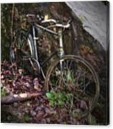 Abandoned Bicycle Canvas Print