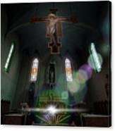 Abandoned Blue Church - Chiesa Blu Abbandonata Canvas Print