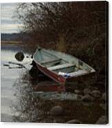 Abandoned Boat Canvas Print
