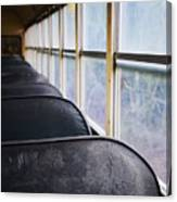 Abandoned Bus Canvas Print