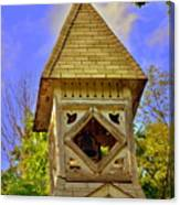 Abandoned Church Steeple Canvas Print